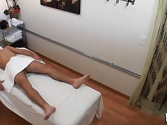Guy really loves the way massage receives mixed with fuck